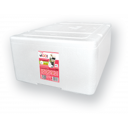 Styrofoam containers - 48L